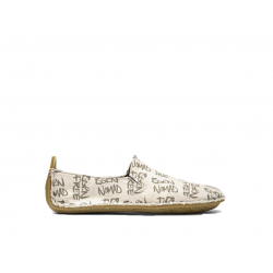 Vivobarefoot ABABA K Cream Born Free Canvas
